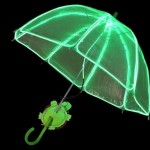 el glowing umbrella